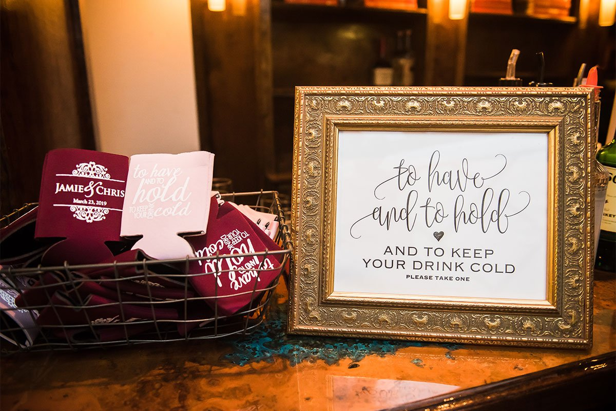 Special Touches for Weddings at The Vista on Seward Hill